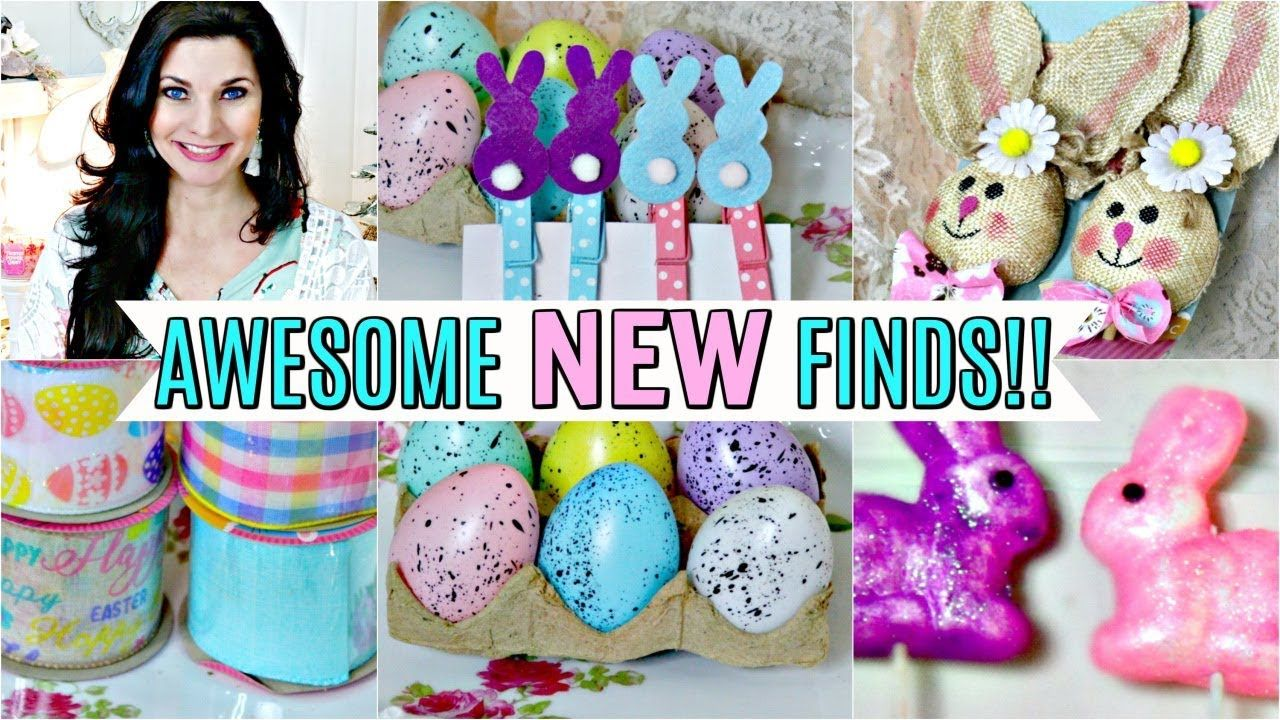 DOLLAR TREE EASTER SPRING HAUL 2020 🐇AWESOME NEW FINDS