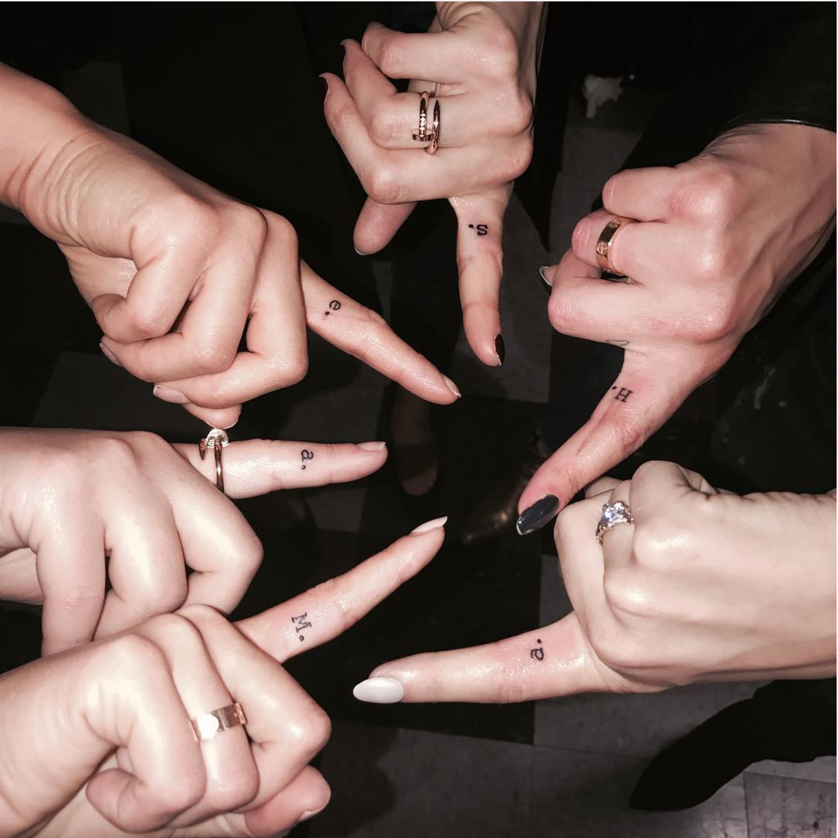48 Tiny Tattoos Spotted on Celebrities That You\'ll Want to Copy ...