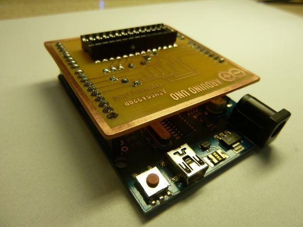 ATMEGA328 Bootloader Programming Shield for Arduino Uno | Tech