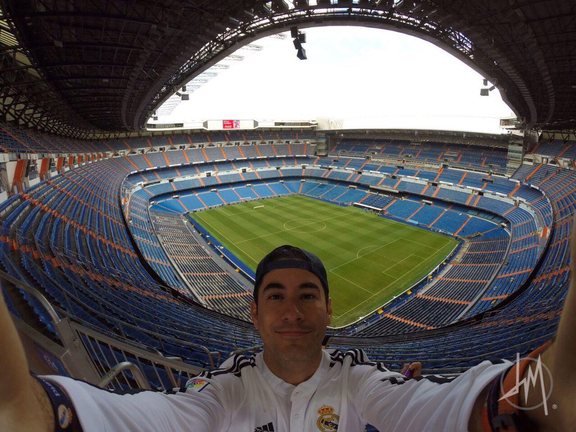 Estadio #SantiagoBernabeu casa del #RealMadrid