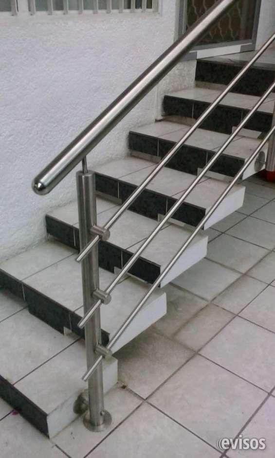 Barandales de acero inoxidable pasamanos de escalera en - Precio escaleras interiores ...