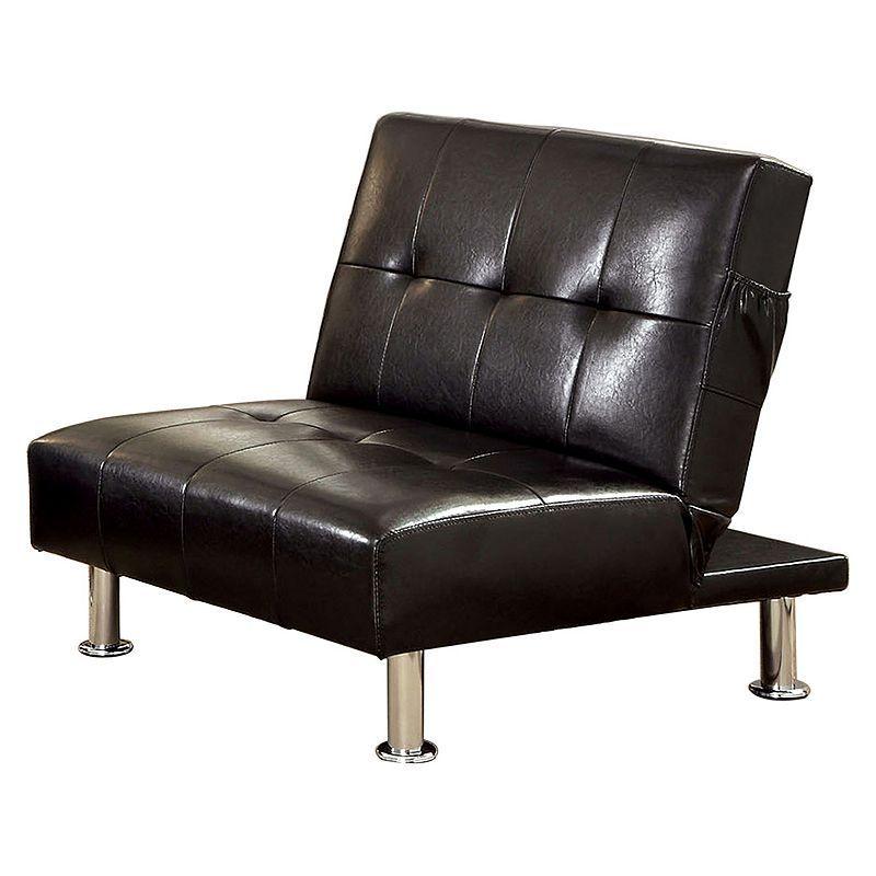 Venetian Worldwide Transitorio Futon Chair, Black