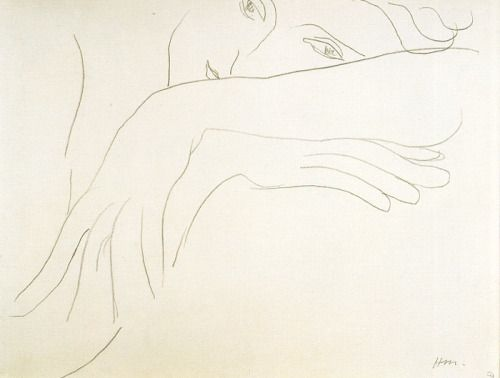 Henri Matisse, Study of a model, 1934