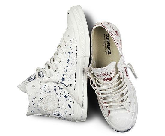 8c6ac400b8d6e5 CONVERSE + MMM. Maison Martin Margiela x Converse First String 2013  Collection Official Release Details Balenciaga Shoes ...