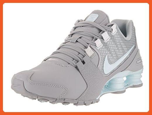 new arrival c8362 45bec Nike Women s Shox Avenue SE Wolf Grey Glacier Blue White Running Shoe 8.5  Women US - Athletic shoes for women ( Amazon Partner-Link)