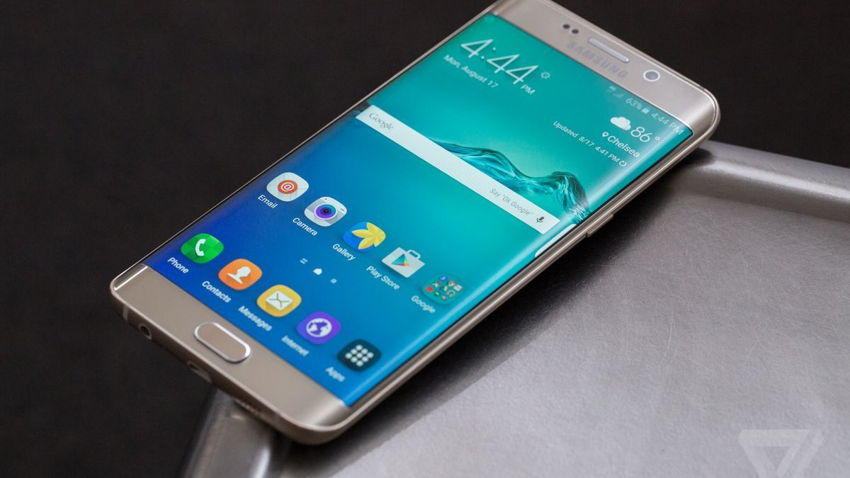 Samsung Galaxy S6 Edge+ review Cell phone service, Cell