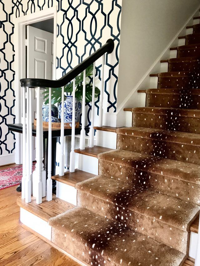 Our Antelope Stair Runner (Before & After | BHG @Home Blogger Contributor Network | Home rugs ...