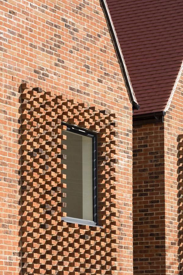 Horsted Park Facade Architecture Brick Detail Brick