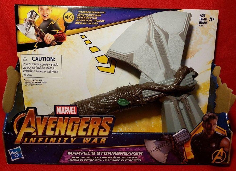 Avengers Infinity War Marvel's Stormbreaker Electronic Axe