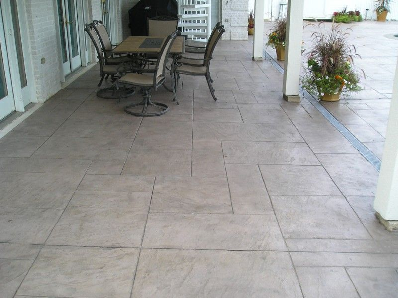 Stamped Concrete Slate   Google Search