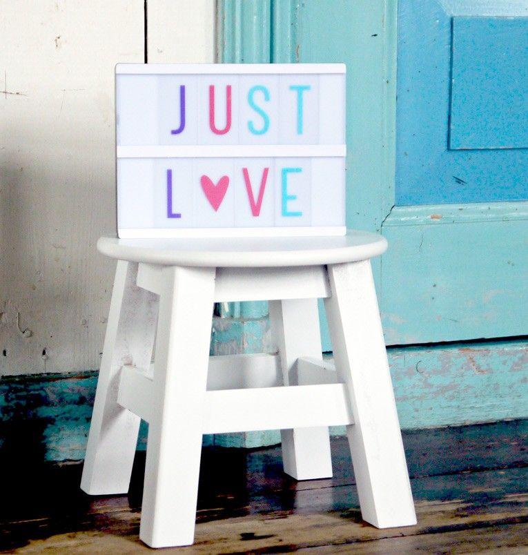 Lightbox letter set: Pastel