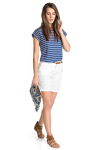 Esprit - Shorts aus 100% Baumwolle im Online Shop kaufen