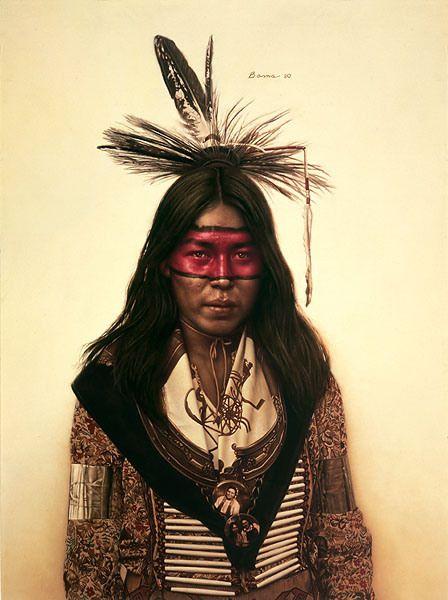 young-indian-dancer James Bama ILL.