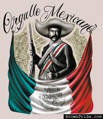Mexican Pride Art