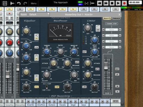 Auria is an expensive, but professional, 48-track, digital