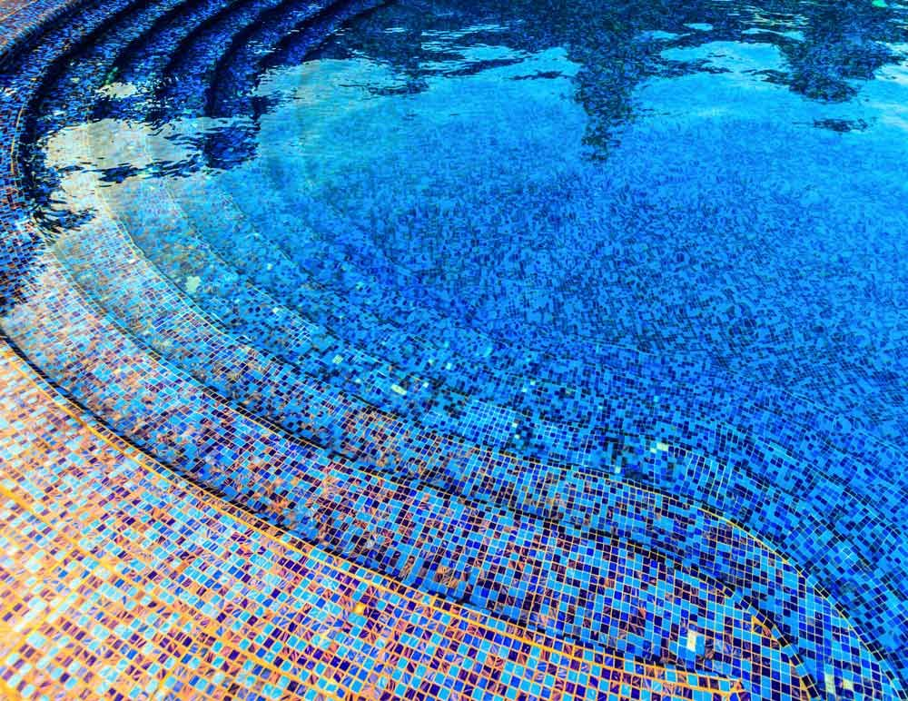 Tuscan tile pooools pinterest tile design for Pool design tiles