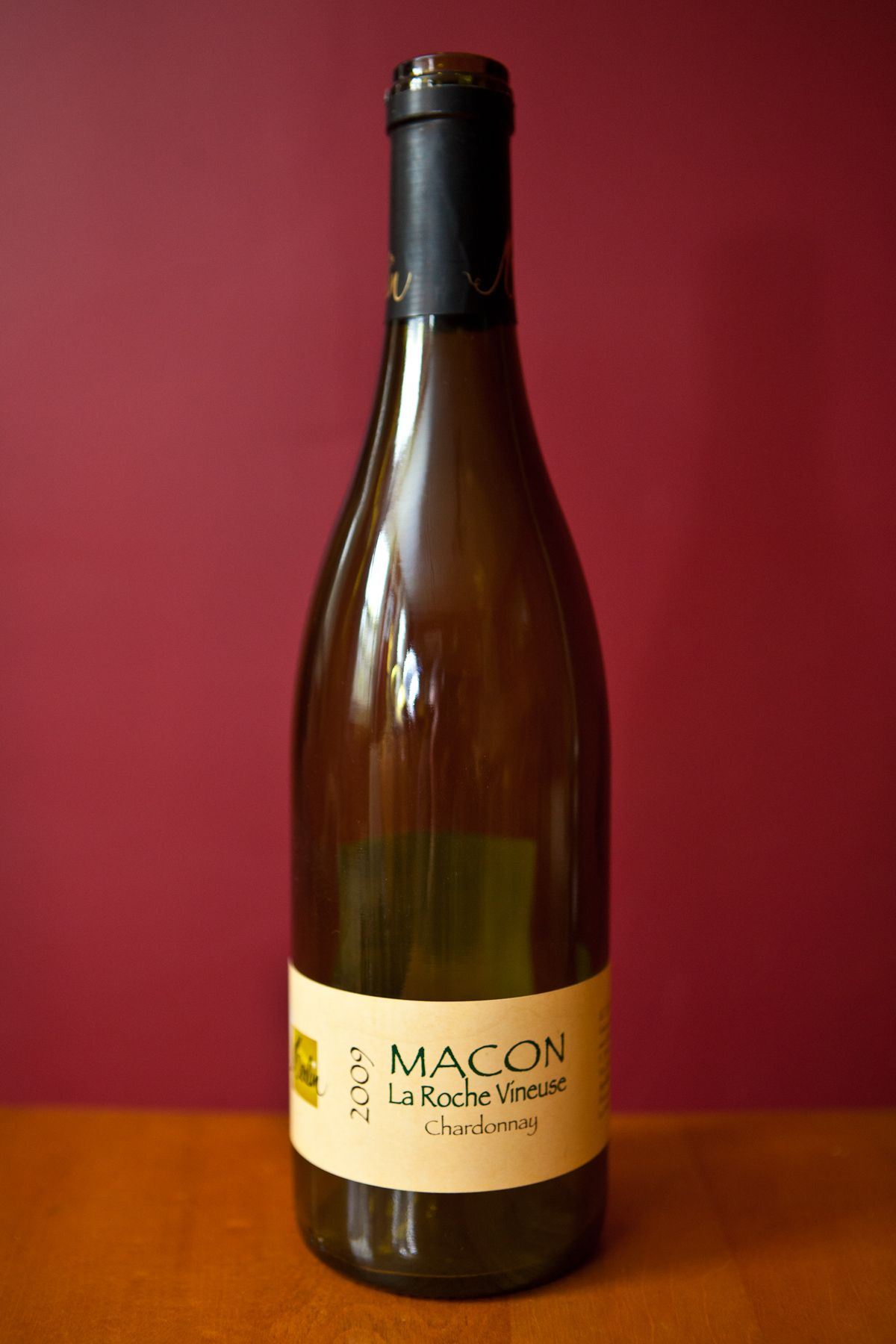 Macon La Roche Vineuse Chardonnay Organic Wine Chardonnay Wine Bottle