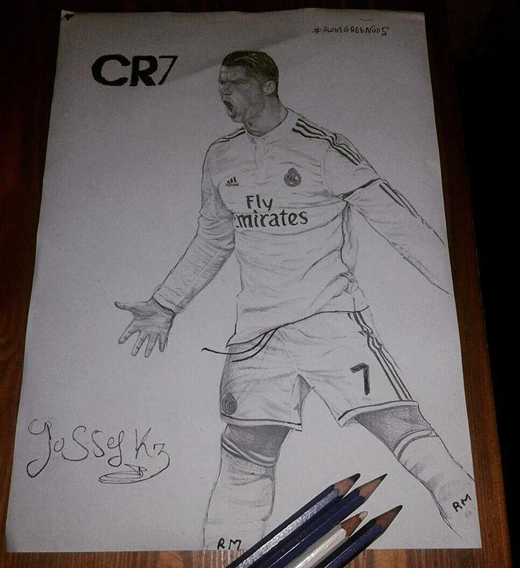 C.ronaldo 7 Pencils: : 8H,2H,3B,5B Time : 3h I hope you ...