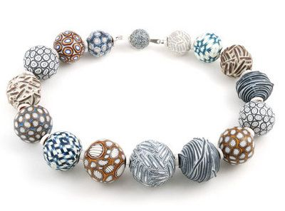 Click to enlarge image. Artist:  Ford + Forlano: Bead Necklace