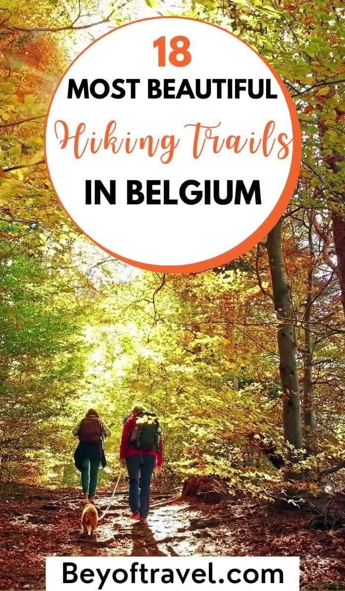 18 Most beautiful hikes in Belgium