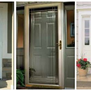Security Storm Doors With Glass And Screen | http://frontshipbroker ...