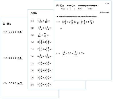 Kumon - Kumon de Matemáticas | Kumon | Pinterest | Cursos de ...