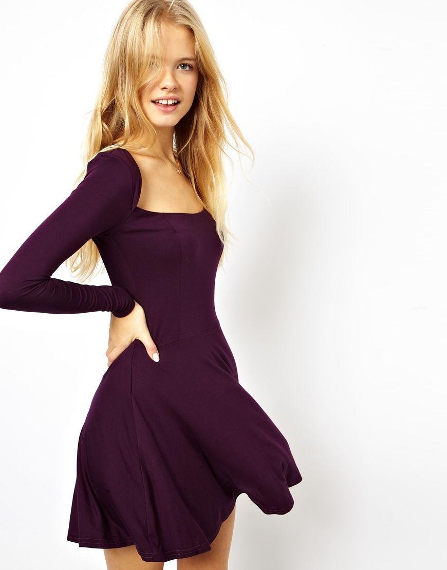 Figurbetontes Kleid von ASOS Collection - aus weichem ...