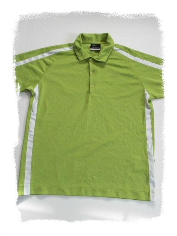 c9e480fb Boys Nike Polo #Golf Shirt Fit Dry 3 Button Lime Green Youth M Size 10 12  Medium #NikeGolf #GolfPolo