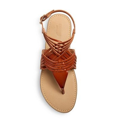 5864ae485279 Women s Johanna Huarache Sandals Mossimo Supply Co. - Cognac (Red ...