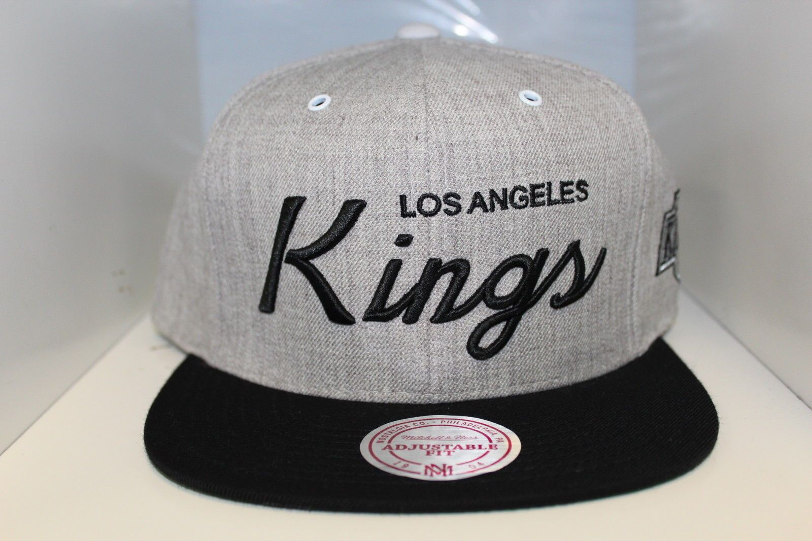 Los Angeles Kings Special Script Vintage Collection Snapback by Mitchell    Ness 3478a7e4dab0