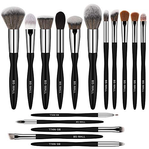 BSMALL Makeup Brush Set 16pcs Makeup Brushes Premium