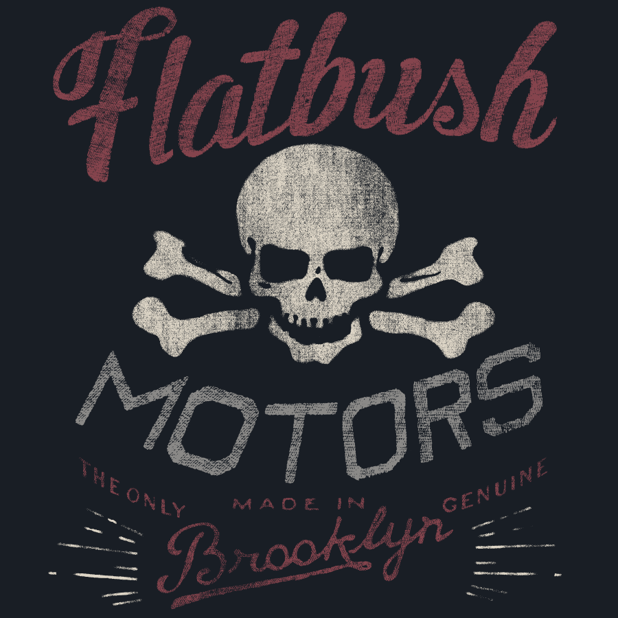 Flatbush Motors | Frank Ozmun | Graphic Design
