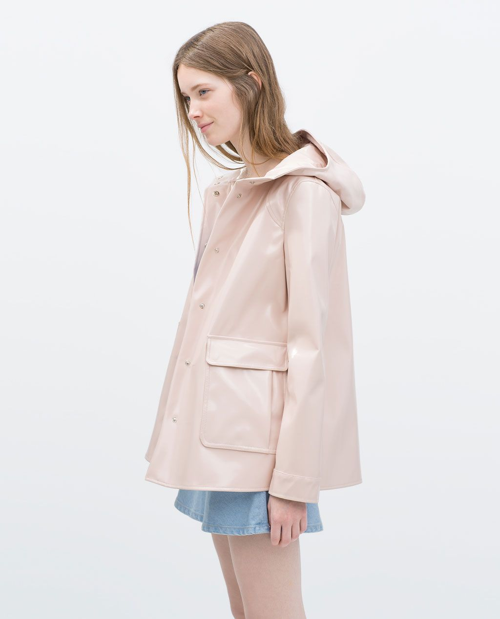 Image 2 of RAINCOAT from Zara