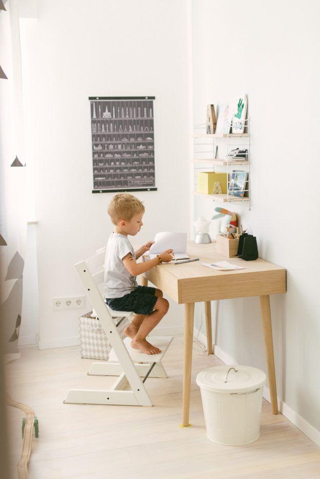 Ein Zimmer Furs Schulkind Schreibtische Kinderzimmer