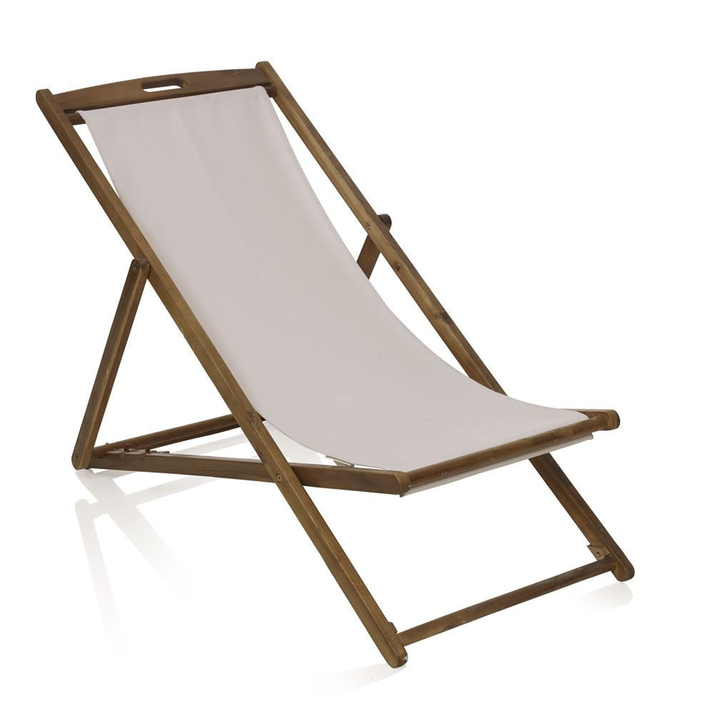 Good Wilko Hardwood Deck Chair