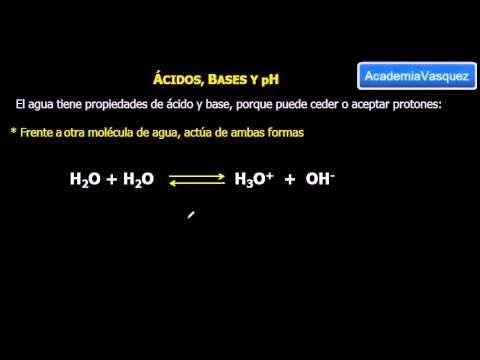 pH: Ácidos y Bases - YouTube