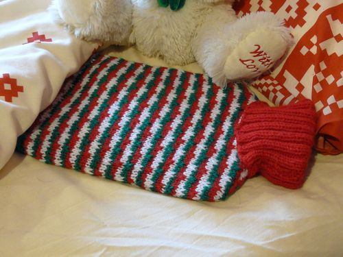 Mia Hot Water Bottle Cover Knitted Hot Water Bottle Cover Free