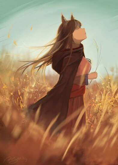 Spice and Wolf - Holo Poster