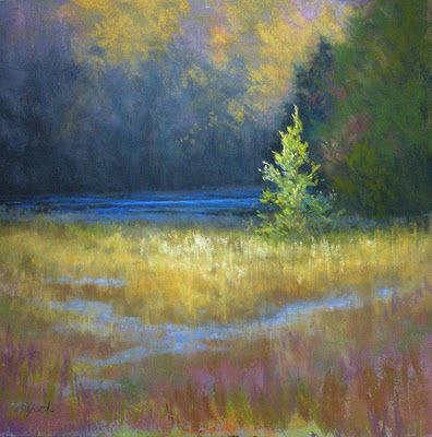 Paula Ford: Mistress of the soft pastels. I own 6 of her originals and that isn't enough, I can tell you. Her art soothes the mind and relaxes the body...