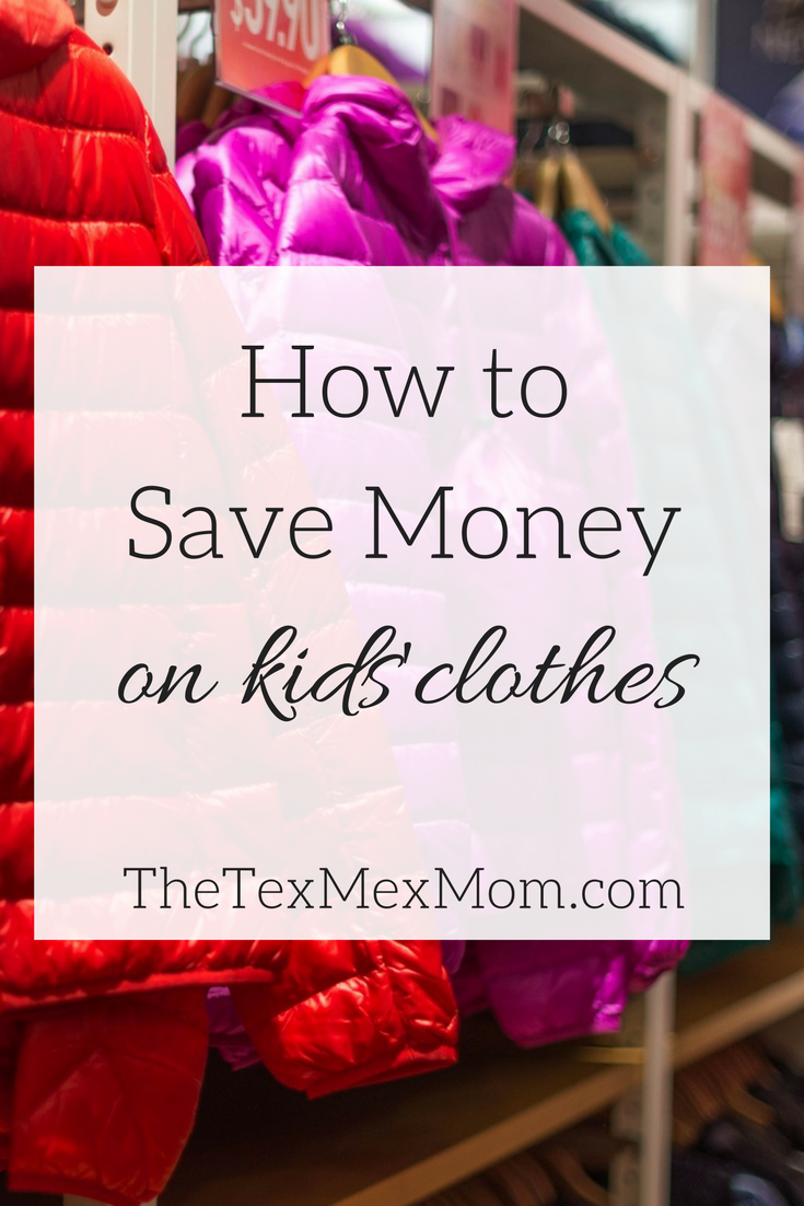 35a87e25e I love buying clothes for my kids, but can't afford to spend a ton. Here  are a few things that I do to find good deals on my kids' clothes!