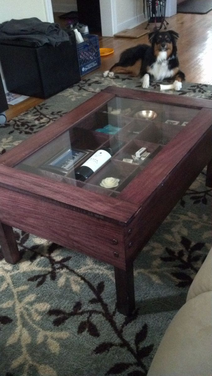 Coffee Table Shadow Box For The Rest Of Home