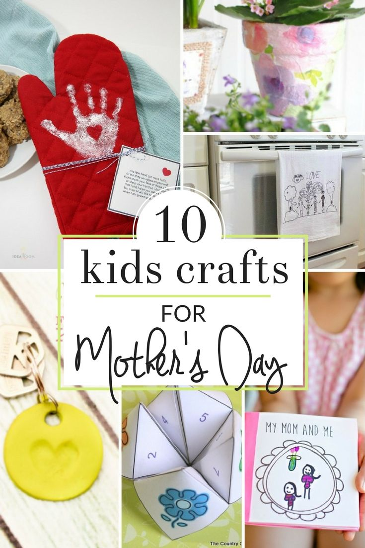 Homemade Mother S Day Gifts From Kids Homemade Mothers Day Gifts