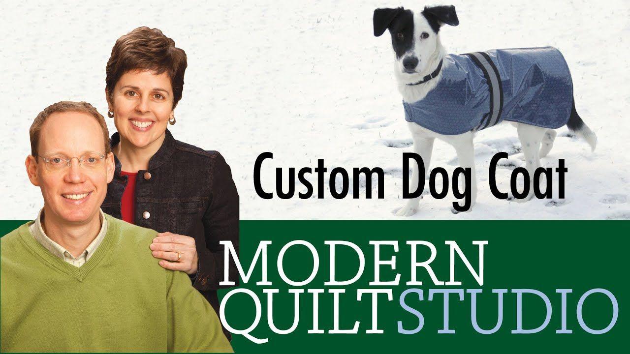 Make A Custom Dog Coat Youtube Custom Dog Coats Dog Coats
