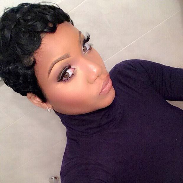 50 short hairstyles for black women pixie hairstyles pin curls 50 short hairstyles for black women urmus Images