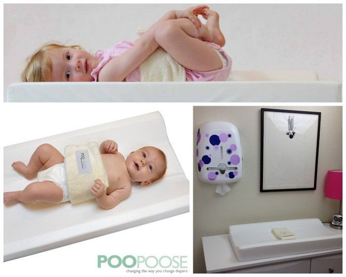 6 Awesome Mom Inventions Poopoose is a great changing pad a high