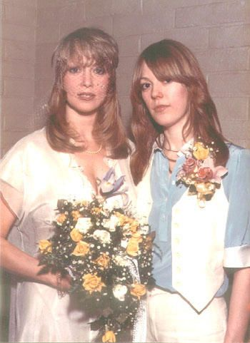 Pattie Boyd Jenny At Patties Wedding To Eric Clapton March 27 1979