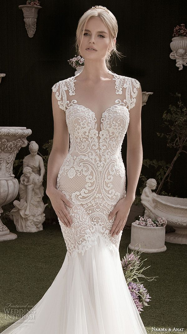 Stunning Winter Wedding Dresses : Anat fall winter wedding dresses spiritual design bridal