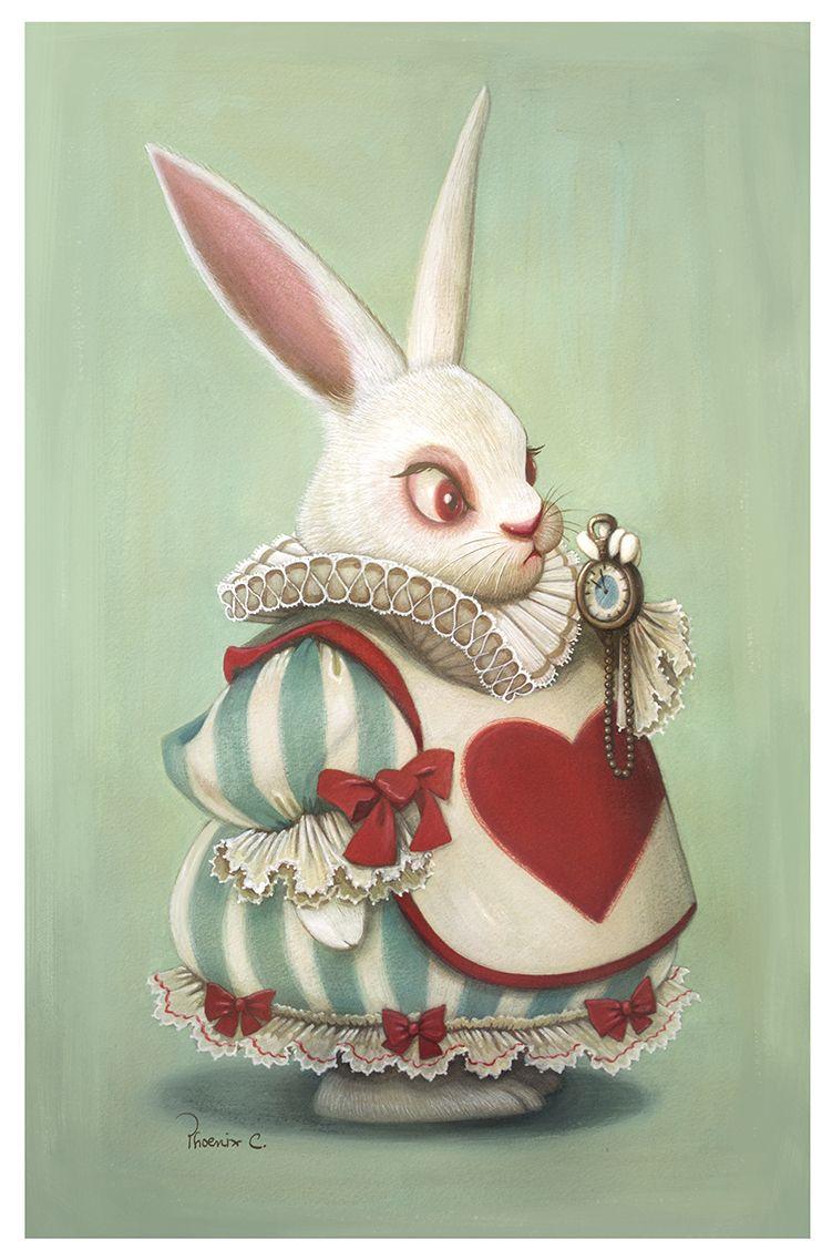 картинки заяц алиса в стране чудес