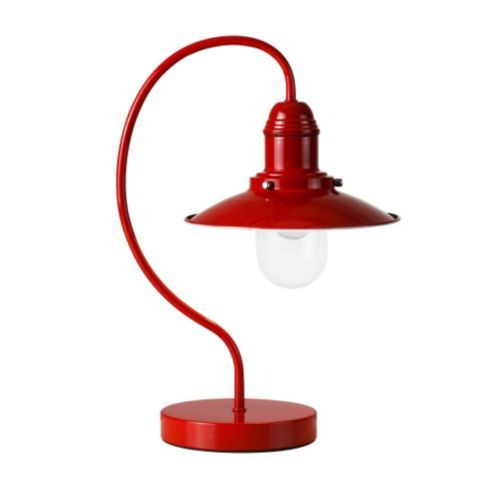Ukai Fishermans Touch Table Lamp In Gloss Red