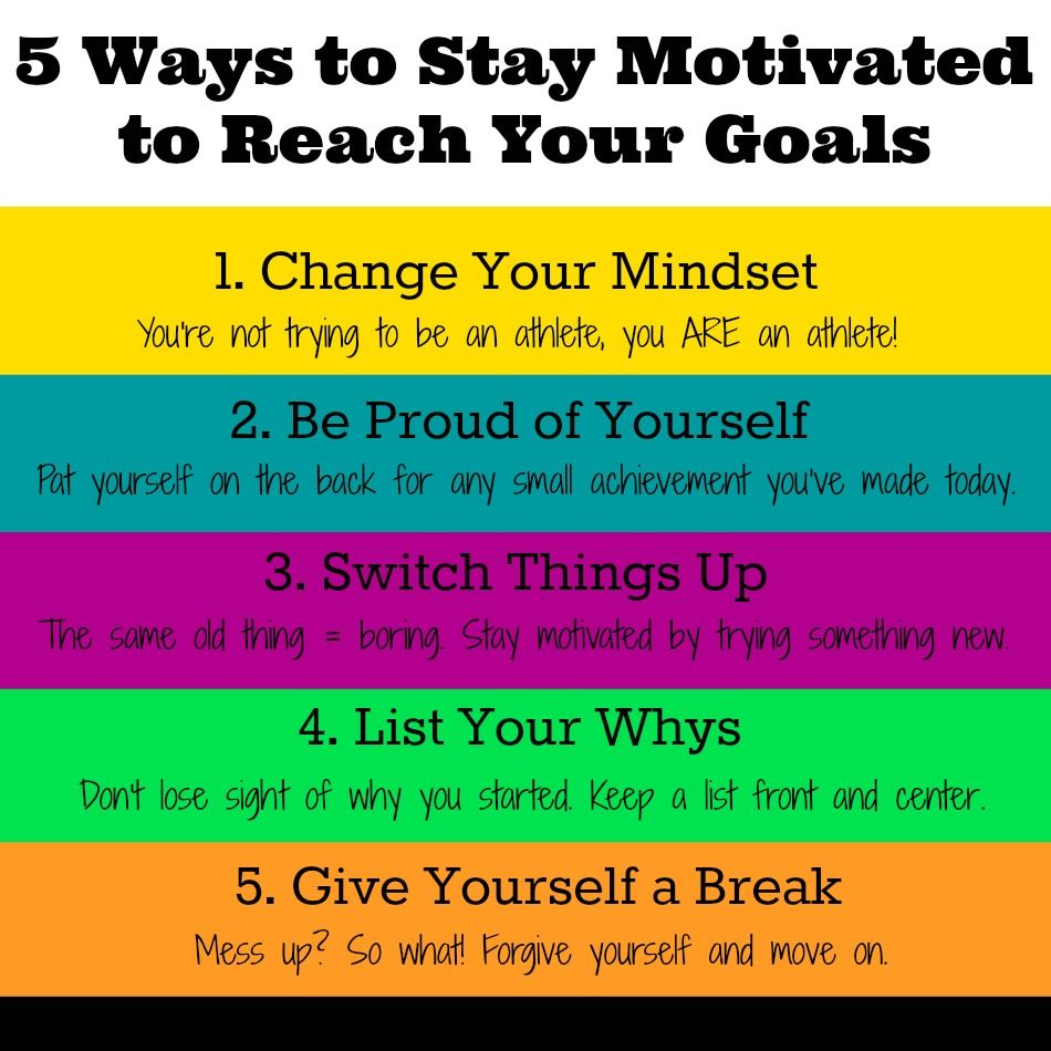 5 Ways to Stay Motivated to Reach Your Goals image